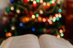 cdbf11821 Cozy Christmas Bible Read stock image. Image of green - 63557229