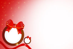 Christmas big bell abstract background Stock Images