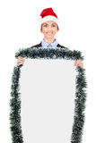 Christmas billboard Royalty Free Stock Images