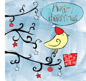 Christmas Bird Royalty Free Stock Images