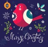 Christmas bird Royalty Free Stock Photo