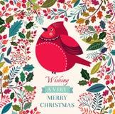 Christmas bird Royalty Free Stock Photography