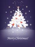 Christmas birds Stock Image