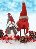Christmas birds Stock Photography