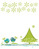 Christmas birds Royalty Free Stock Photos