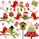 Christmas Birds Royalty Free Stock Photo