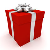 Christmas or birthday present Royalty Free Stock Photo