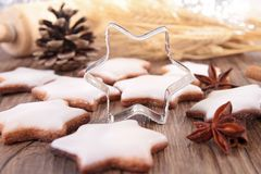 Christmas biscuit Royalty Free Stock Photography