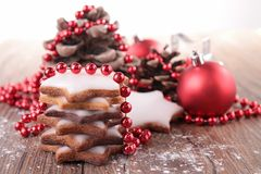 Christmas biscuit Royalty Free Stock Images