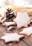 Christmas biscuit Stock Photography