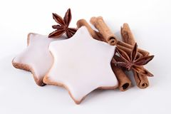 Christmas biscuit Stock Images