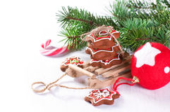 Christmas biscuit Royalty Free Stock Image