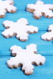 Christmas biscuits. Stock Images