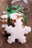 Christmas biscuits. Royalty Free Stock Photography