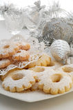 Christmas biscuits royalty free stock photos