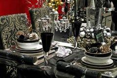 Christmas in black Stock Photo