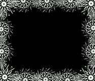 Christmas black frame Stock Photography