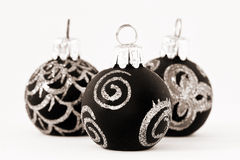 Christmas in black and white Stock Photo