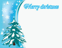 Christmas_blank Royalty Free Stock Images