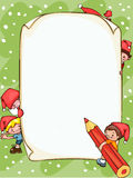 Christmas  blank banner Stock Photo