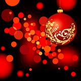 Christmas blank blur Royalty Free Stock Images