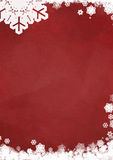 Christmas blank greeting card Stock Photos
