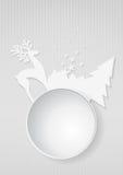 Christmas blank Royalty Free Stock Photo