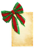 Christmas blank paper Royalty Free Stock Photos