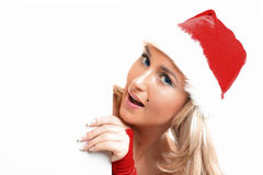 Christmas blank Royalty Free Stock Image