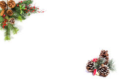 Christmas blank for your own words Stock Photo