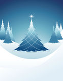 Christmas blue Stock Photo