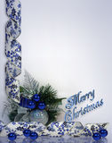 Christmas blue Stock Images