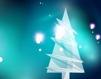 Christmas blue abstract background  Stock Photography