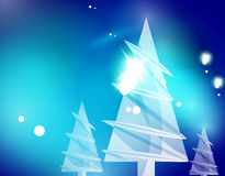 Christmas blue abstract background  Royalty Free Stock Image