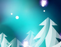Christmas blue abstract background with white Royalty Free Stock Photo