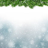 Christmas blue abstract background. Stock Images