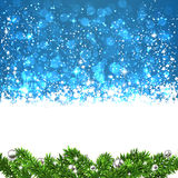 Christmas blue abstract background. Royalty Free Stock Photos
