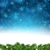 Christmas blue abstract background. stock illustration