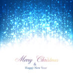 Christmas blue abstract background. Stock Photos