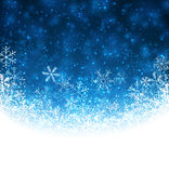 Christmas blue abstract background. Royalty Free Stock Images