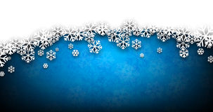Christmas blue abstract background. Royalty Free Stock Photography