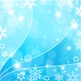 Christmas blue background. Stock Image