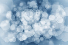 Christmas blue background concept Stock Images
