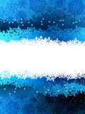 Christmas blue background. EPS 8. File included Stock Photo