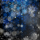Christmas blue background. EPS 10. Vector file included Stock Photography