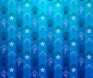 Christmas blue background Stock Photography
