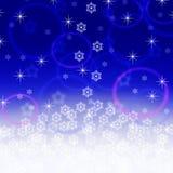 Christmas blue background Royalty Free Stock Photo