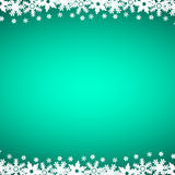 Christmas blue background with snowflakes, vector. Illustration Royalty Free Stock Images