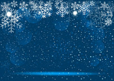 Christmas blue background. Vector EPS 10. Christmas blue background. Vector EPS10 Stock Photo