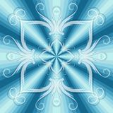 Christmas blue seamless pattern Royalty Free Stock Photography